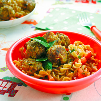 Lamb and feta meatballs