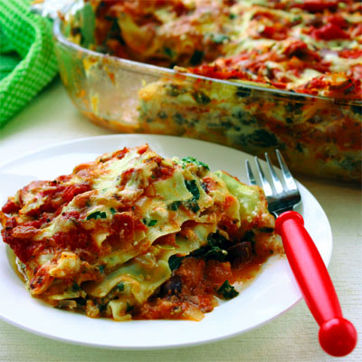 The best-ever vegetarian lasagna