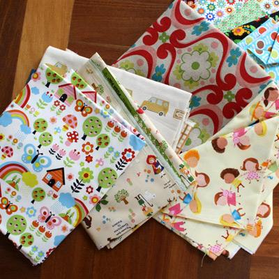 Cute fabrics from Kelani Fabrics