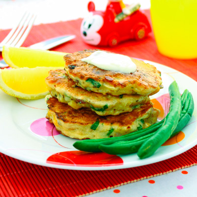 Salmon Pikelets