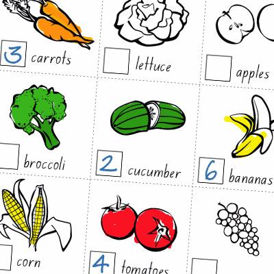 vegie smugglers healthy eating worksheet