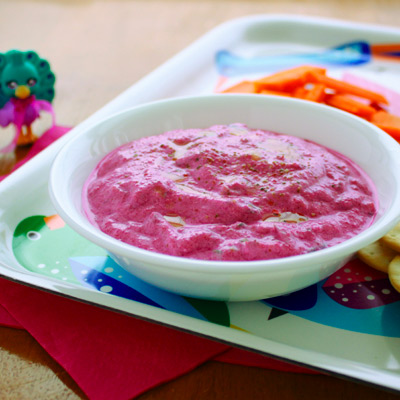 beetroot tzatziki dip recipe