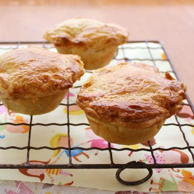 Chicken pies.