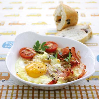 Vegie Smugglers baked eggs