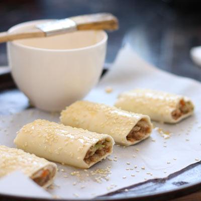 egg glaze for sausage rolls