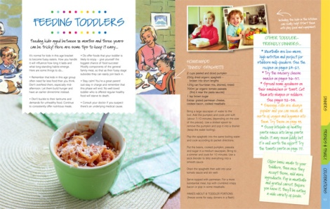 "This recipe appears in my new ""Kitchen Collection"" cookbook, with a toddler-feeding tips and family-friendly recipes."