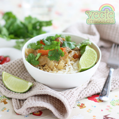 Slow cooker chicken satay