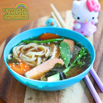 Use the basic broth and add whatever suits your family.