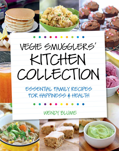 If you like my food philosophy, you'll love my cookbook!