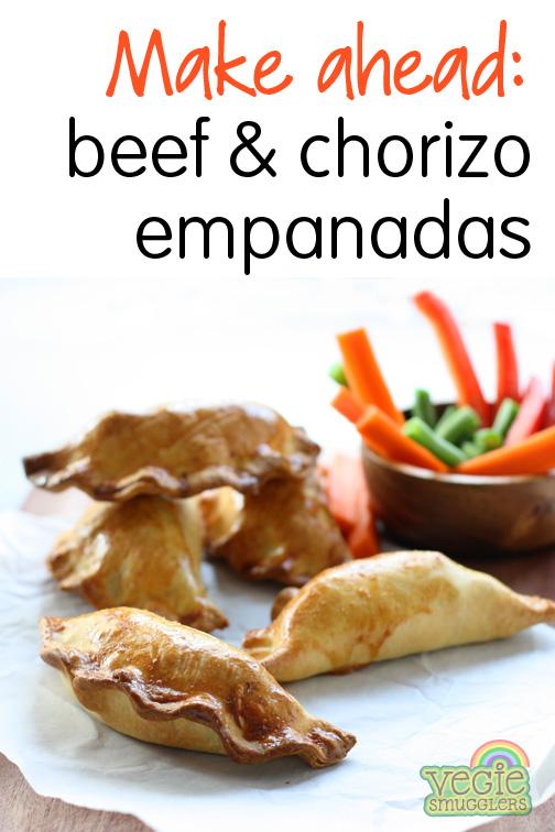 Beef & Chorizo Empanadas | Vegie Smugglers
