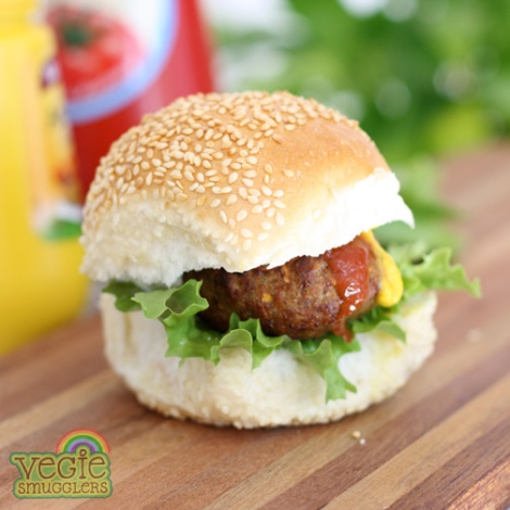 vegie smugglers basic hamburger for kids